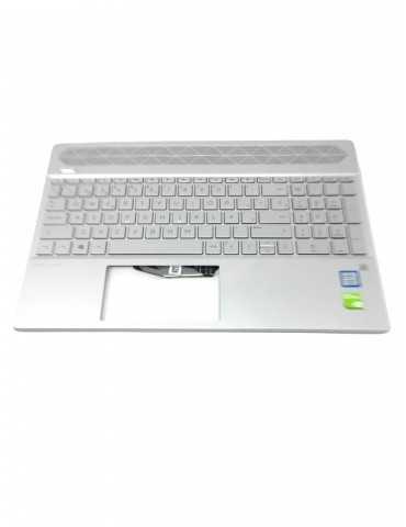 Top Cover con Teclado Original Portátil HP L24752-071