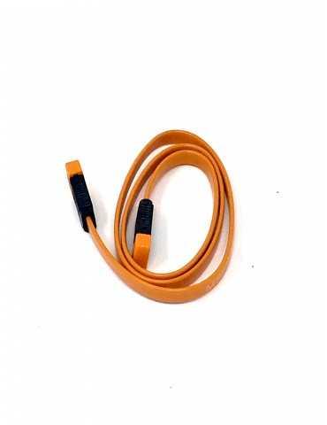 Cable Conexión Disco Duro SATA III Naranja