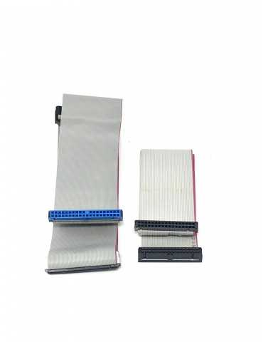 Pack 1 Cable Datos Disco Duro IDE y 1 Floppy-Disquetera