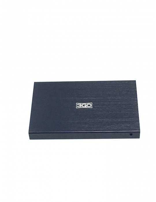 Carcasa Aluminio Disco Duro 2.5 Externa USB 2.0 3GO
