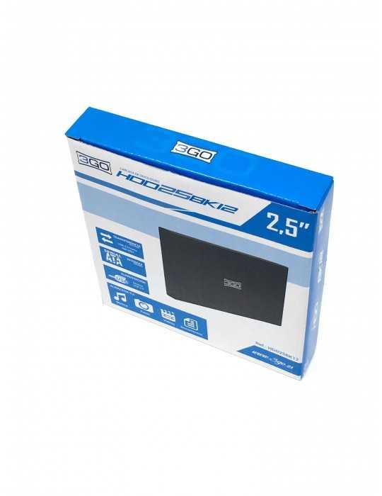 Caja Externa USB Disco Duro 2.5 Externa USB 2.0 3GO