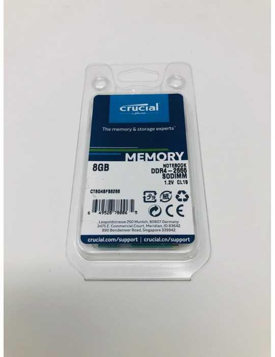 CT8G4SFS8266 MEMORIA RAM 8 GB 2666 Mhz