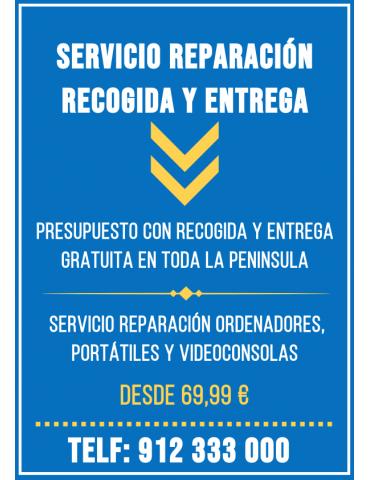 Servicio Reparación Ordenador Portátil Videoconsola