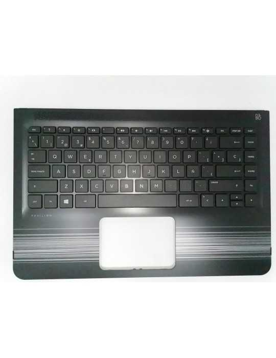 Teclado Original Top Cover Portátil HP 13-U001NS 856037-071