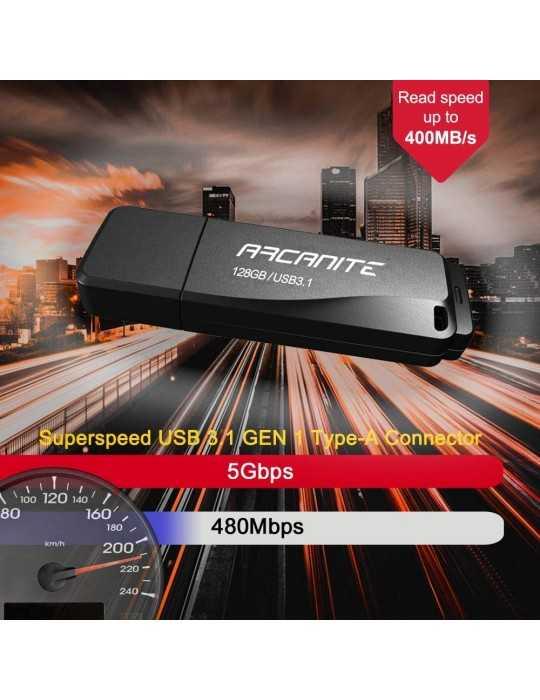Memoria USB Arcanite 3.1 400Mb/s SuperSpeed