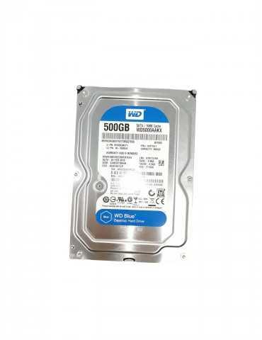 Disco Duro Sobremesa Sata WD Blue 3.5 500 Gb WD5000AAKX
