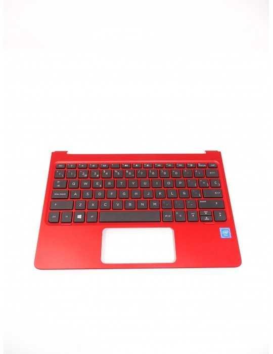 Top Cover con teclado Nuevo HP X2 210 Rojo 834519-071