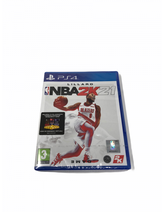 Juego Original NBA 2K 21 Videoconsola Sony PS 4 . PS4