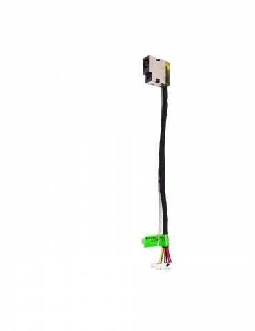 Conector Cable DC-IN Portátil HP 15-DA0051NS 814142-015