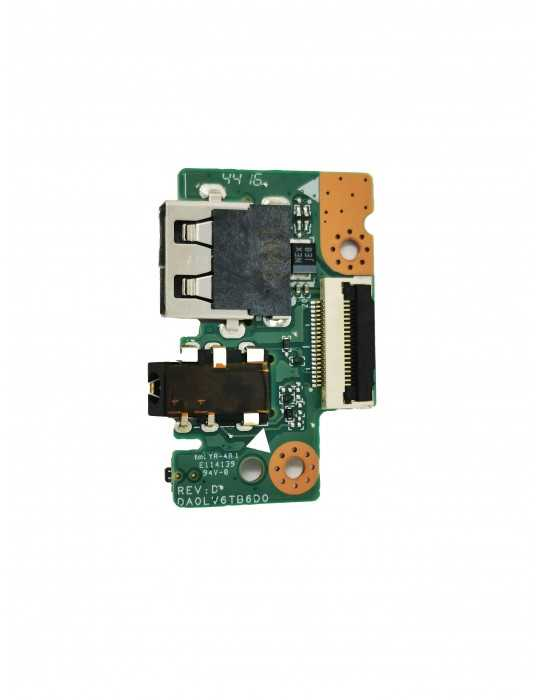 Placa USB Audio Power Board Original Portátil Lenovo V310