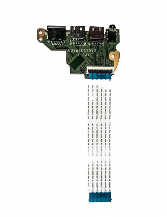 Placa Audio Lan Flex Usb Portatil Hp Original DA0X63TB6F0