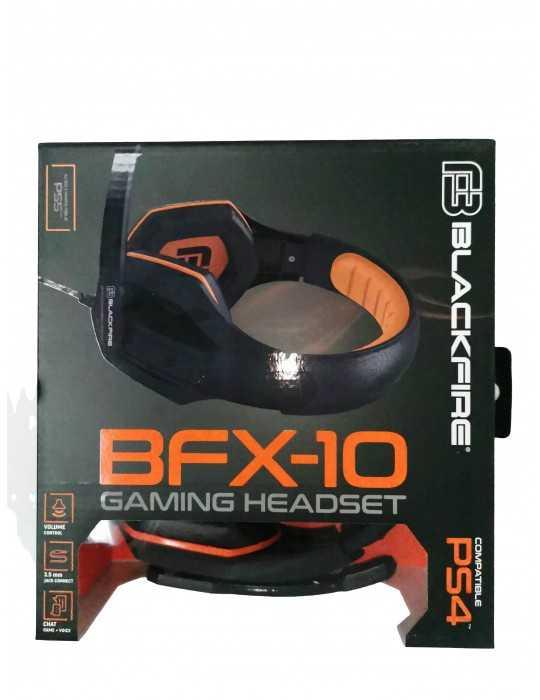 Cascos Originales Headset Gaming PS4 Blackfire BFX-10