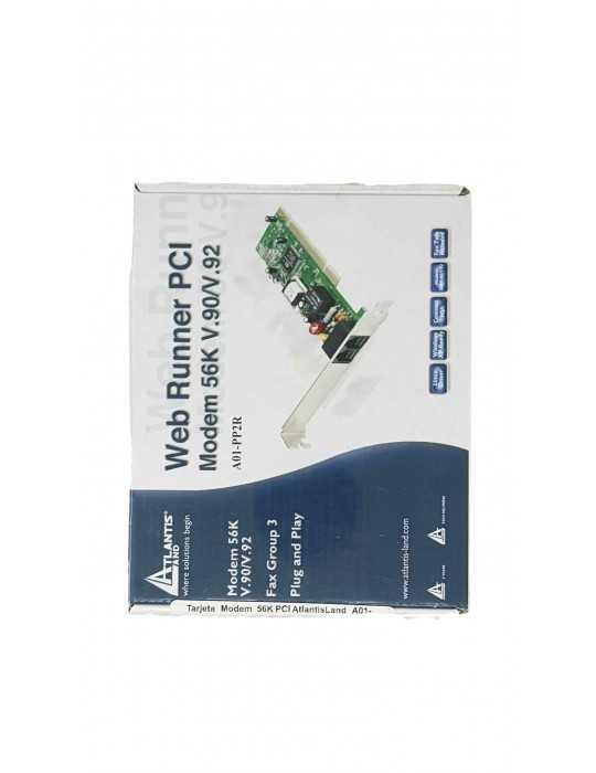 Tarjeta Modem 56K PCI AtlantisLand A01-PP2R