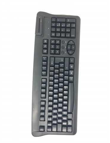Teclado USB Lector DNI Electrónico KBR36
