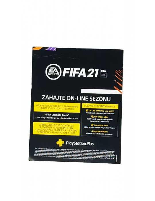 Código Promoción PS4 FIFA 21 Online 14 Dias