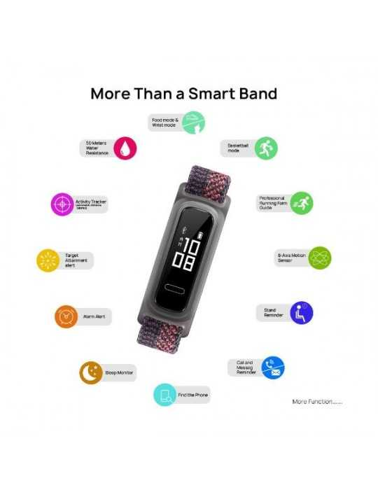 SmartWatch Tactil Huawei Band 4E Sakura Coral Rojo