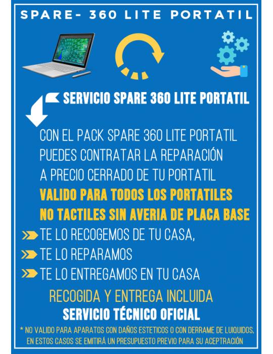 Reparación Portatil SPARE-360 Lite