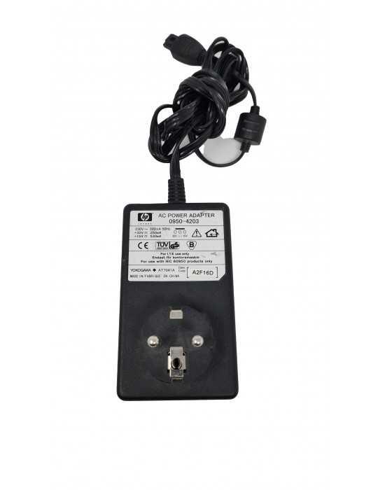 Cargador Impresora Hp 0950-4203 32v/15V 250mA/530Ma Negro