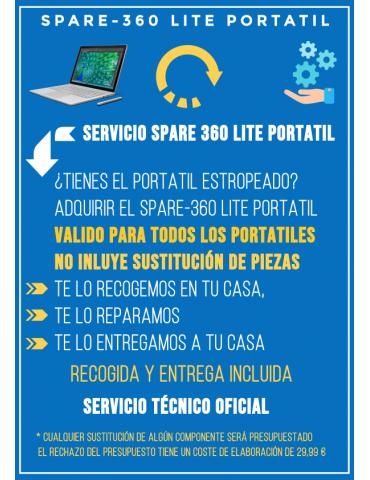 Servicio Reparación Spare-360 Portátil