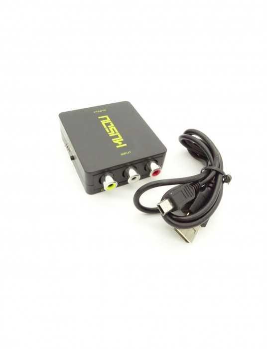 Convertidor Video RCA 1080P X000KNSTGH a Salida HDMI
